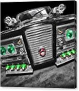 The Green Hornet - Black Beauty Canvas Print