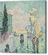 The Green House, Venice Canvas Print