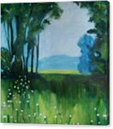 The Green Of Spring Canvas Print