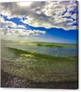 The Green Sea Canvas Print