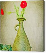 The Green Vase Canvas Print