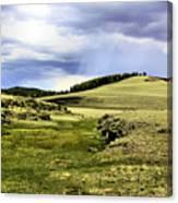 The Green White Mountains 1825 Canvas Print