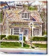 The Greystone Inn In Brigadoon Canvas Print
