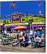 The Grill House Canvas Print