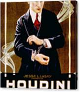 The Grim Game, Harry Houdini, 1919 Canvas Print