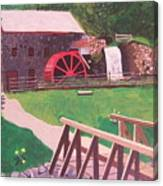 The Gristmill At Wayside Inn Canvas Print