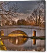 The Grove Bridge On The Grand Union Canal  Canvas Print