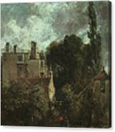 The Grove Or The Admiral's House In Hampstead Canvas Print