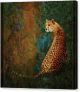 The Guard At The Temple Canvas Print