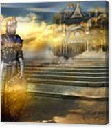 The Guardian Of The Celestial Palace Canvas Print