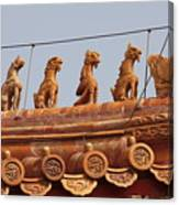 The Guardians Of The Forbidden City Canvas Print