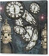 The Guardians Of The Time Stopped Canvas Print
