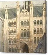 The Guildhall Canvas Print