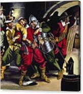 The Gunpowder Plot Canvas Print