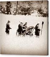 The Guns Of Gettysburg Canvas Print