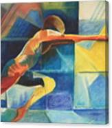 The Gymnast  Canvas Print