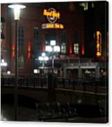 The Hard Rock At The Inner Harbor Canvas Print