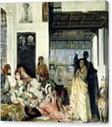 The Harem Canvas Print