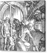The Harrowing Of Hell Or Christ In Limbo From The Large Passion 1510 Canvas Print