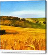 The Harvest Is Plentiful Canvas Print
