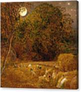 The Harvest Moon Canvas Print