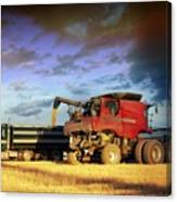 The Harvest Run Canvas Print