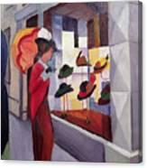 The Hat Shop Canvas Print