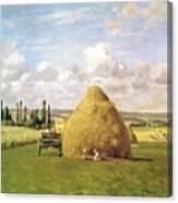 The Haystack Canvas Print