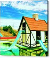 The Hazmat Water Park Canvas Print