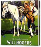 The Headless Horseman 1922 Canvas Print