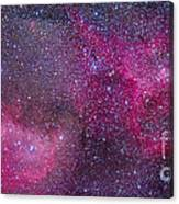 The Heart And Soul Nebulae Canvas Print