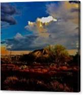 The Heart Of Cave Creek Canvas Print