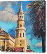 The Heart Of Charleston Canvas Print