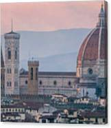 The Heart Of Florence Italy Canvas Print