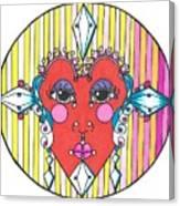 The Heart Queen Canvas Print
