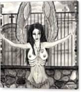 The Heartbroken Hippie Canvas Print