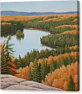The Height Of Autumn Canvas Print