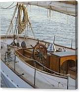 The Helm Canvas Print