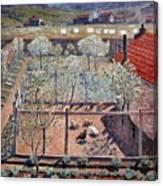 The Henhouse Canvas Print