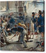 The Hero Of Trafalgar Canvas Print
