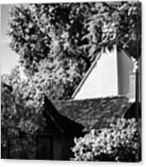 The Hidden English Estate Canvas Print