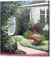 The Hidden Garden Canvas Print