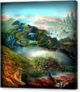The Highkingdom Of Loch Lein Aka Hesperidean Avalon Canvas Print