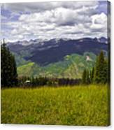 The Hills Are Alive In Vail Canvas Print