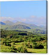 The Hills Of Southern Ireland Canvas Print