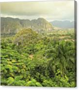 The Hills Of Vinales Canvas Print