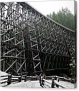The Historic Kinsol Trestle 3. Canvas Print