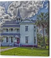 The Historic Rabb Plantation Home Canvas Print