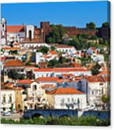 The Historic Town Of Silves In Portugal Canvas Print