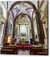 The Historical Church - Iglesia De La Salud Canvas Print